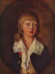 'Portrait of Adolphus, Duke of Cambridge, wearing the Windsor Uniform', 18th century by Thomas Gainsborough