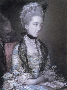 Portrait of Caroline, 4th Duchess of Marlborough by Thomas Gainsborough