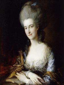 Portrait of Dorothea by Thomas Gainsborough