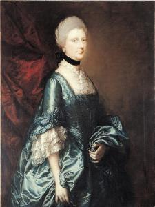 Portrait of Harriet, Viscountess Tracy, C.1763 by Thomas Gainsborough