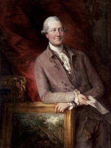 Portrait of James Christie (1730-1803), 1778 by Thomas Gainsborough