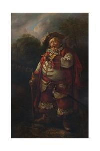'Portrait of James Quin as Falstaff', 18th century, (1935) by Thomas Gainsborough