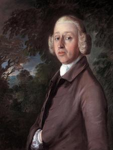 Portrait of Lambe Barry, C.1759 by Thomas Gainsborough