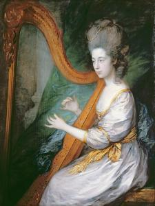 Portrait of Louisa, Lady Clarges, c.1778 by Thomas Gainsborough