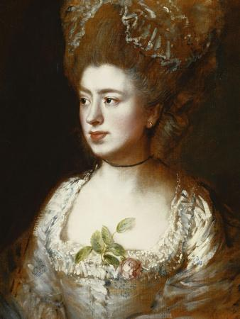 Portrait of Miss Mary Gainsborough, Later Mrs. Fischer, the Artist's Daughter