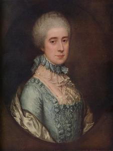 'Portrait of Mrs. Awse', 1767, (1936) by Thomas Gainsborough