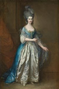 Portrait of Mrs. William Villebois by Thomas Gainsborough