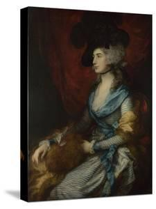 Portrait of Sarah Siddons, 1785 by Thomas Gainsborough