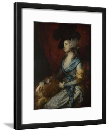 Portrait of Sarah Siddons, 1785