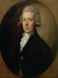 Portrait of William Pitt the Younger (1759-1806), C.1787 by Thomas Gainsborough