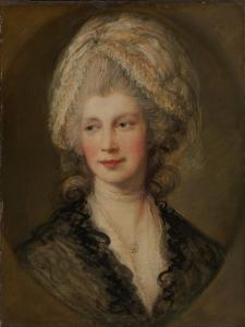 Queen Charlotte, c.1782 by Thomas Gainsborough