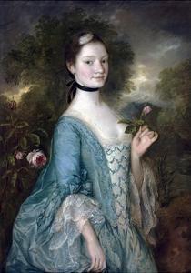 Sarah, Lady Innes by Thomas Gainsborough