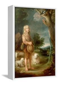 Shepherd Boy Listening to a Magpie by Thomas Gainsborough