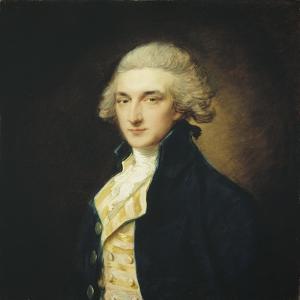 Sir John Edward Swinburne, 1785 by Thomas Gainsborough