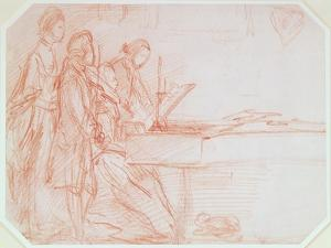 Study for a Group Portrait of a Musical Party, C.1770 by Thomas Gainsborough
