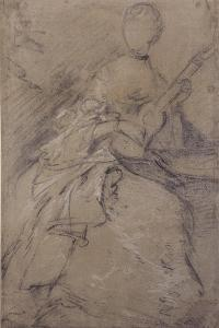 Study for the Portrait of Ann Ford, C.1760 by Thomas Gainsborough