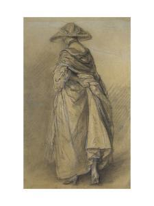 Study of a Woman, Seen from the Back by Thomas Gainsborough
