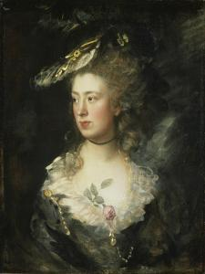 The Artist's Daughter Mary by Thomas Gainsborough