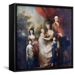 The Baillie Family, C1784 by Thomas Gainsborough
