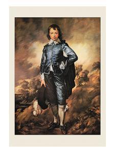 The Blue Boy by Thomas Gainsborough