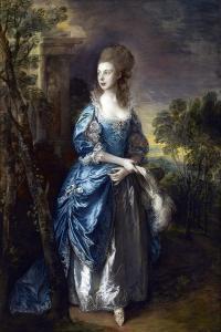 The Hon. Frances Duncombe by Thomas Gainsborough