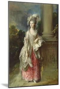The Hon. Mrs. Graham by Thomas Gainsborough