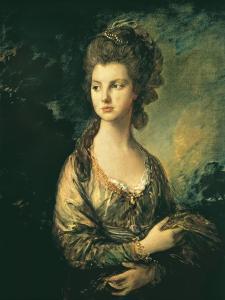 The Hon. Mrs. Thomas Graham by Thomas Gainsborough