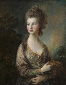The Honorable Mrs. Thomas Graham, 1775-77 by Thomas Gainsborough