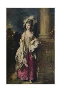 'The Honourable Mrs Graham', 1775-1777 by Thomas Gainsborough