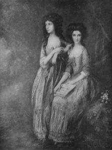 'The Linley Sisters, afterwards Mrs. Tickell and Mrs. Sheridan', c1772, (1917) by Thomas Gainsborough
