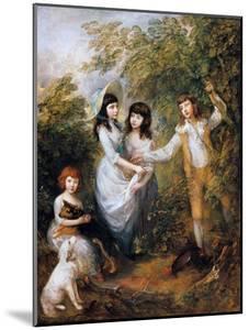 The Marsham Children, 1787 by Thomas Gainsborough