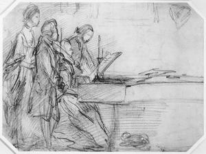 The Recital by Thomas Gainsborough