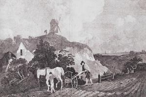 The Suffolk Plough, C.1753 by Thomas Gainsborough