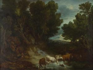 The Watering Place, before 1777 by Thomas Gainsborough