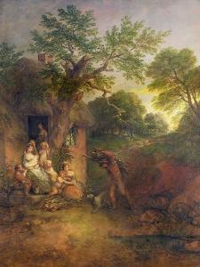 The Woodcutter's House by Thomas Gainsborough