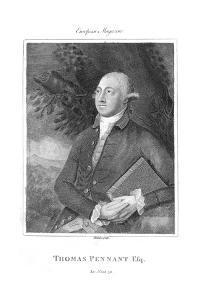 Thomas Pennant, 18th Century British Naturalist and Traveller, C1840 by Thomas Gainsborough