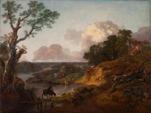 View in Suffolk, C.1755 by Thomas Gainsborough