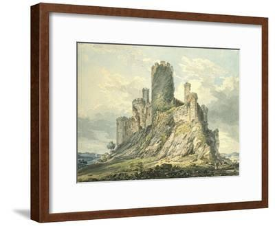 Conway Castle, C.1793 (Watercolour, Touched with the Reed Pen, over Indications in Graphite)