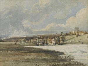 Exeter from Trew's Weir, C.1799 by Thomas Girtin