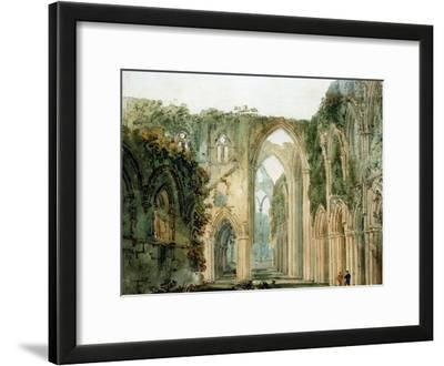 Interior of Tintern Abbey