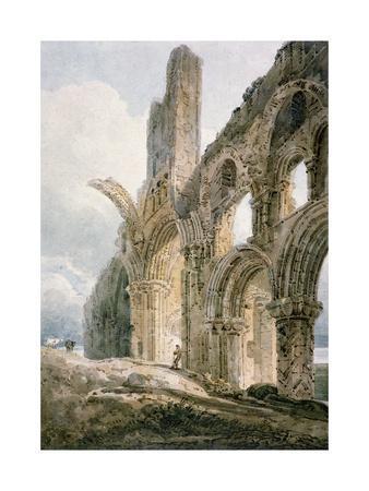 Lindisfarne Abbey, C.1797
