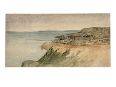 Lyme Regis, Dorset, C.1797 (W/C over Pencil on Textured Paper)