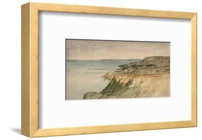 Lyme Regis, Dorset, C.1797 (W/C over Pencil on Textured Paper)