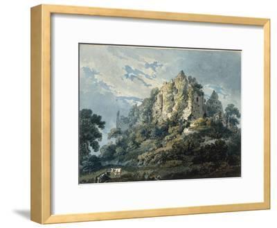 Okehampton Castle, Devon, 1791