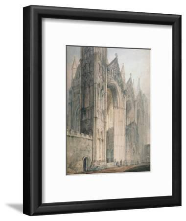 Peterborough Cathedral (W/C on Paper)