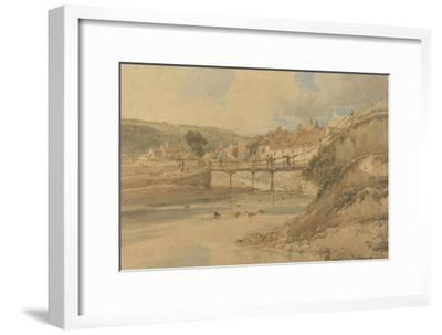 Sandsend, Yorkshire, 1802 (W/C over Graphite on Textured Wove Paper Laid Down on Card)