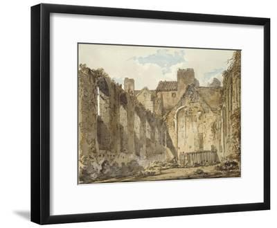 The Ruins of the Chapel in the Savoy Palace