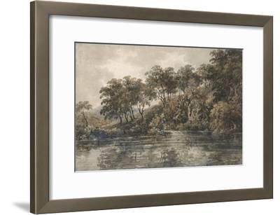 Trees and Ponds Near Bromley, Kent, C.1798 (W/C over Pencil with Bodycolour on Paper)