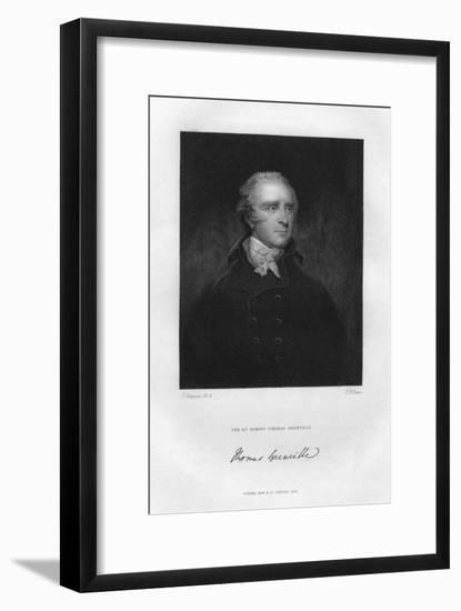 Thomas Grenville (1755-184), British Politician and Bibliophile, 19th Century-TA Dean-Framed Giclee Print
