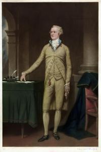 Portrait of Alexander Hamilton by Thomas Hamilton Crawford